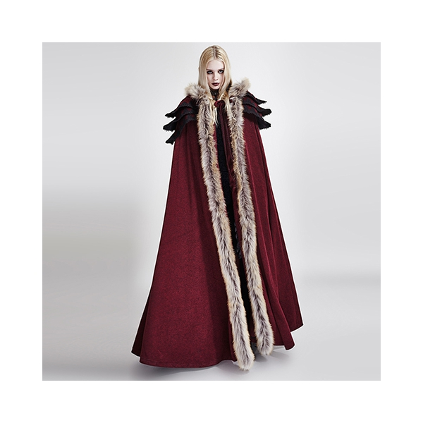 rebelsmarket_womens_black_or_red_fur_trim_gothic_medieval_sorceress_cloak_free_shipping_jackets_7.jpg