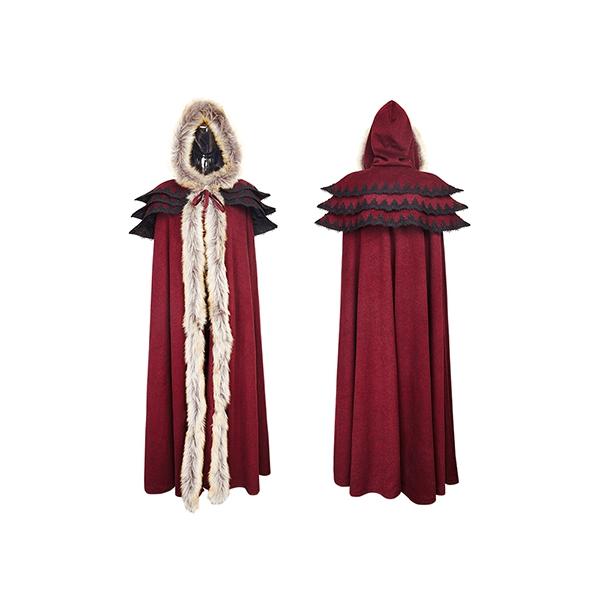 rebelsmarket_womens_black_or_red_fur_trim_gothic_medieval_sorceress_cloak_free_shipping_jackets_5.jpg