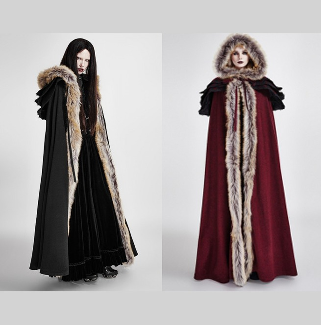 rebelsmarket_womens_black_or_red_fur_trim_gothic_medieval_sorceress_cloak_free_shipping_jackets_15.jpg