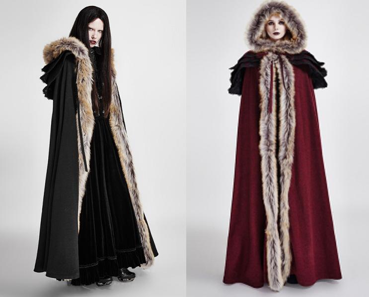 rebelsmarket_womens_black_or_red_fur_trim_gothic_medieval_sorceress_cloak_free_shipping_jackets_15.jpg