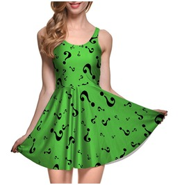 Comic Character Halloween Stretchy Dress In Small To Plus Sizes