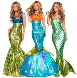 Mermaid Halloween Costume Dress
