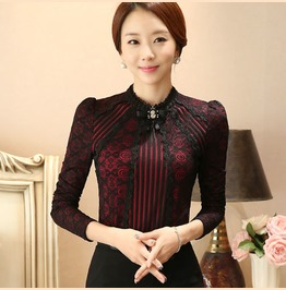 Old Fashioned Victorian Vintage Lace Top