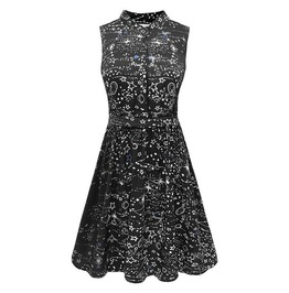 Galaxy Dress / Vestido Galaxia Wh443