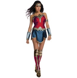 Wonder Woman Justice League Costume Halloween Set