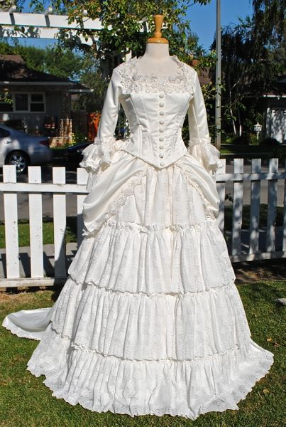 christine phantom of the opera wedding gown