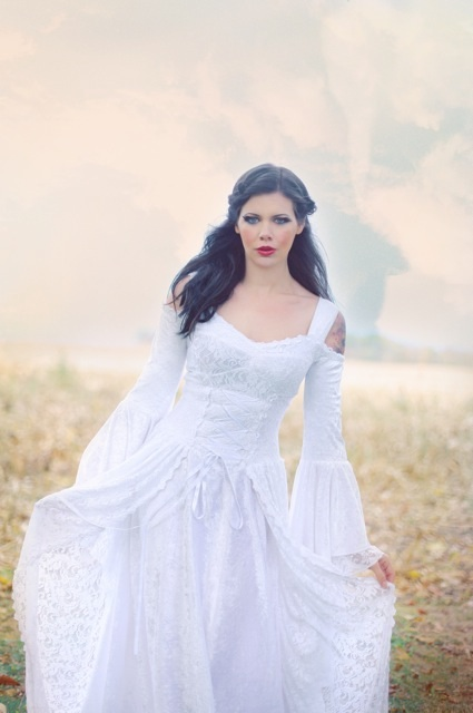Medieval Corset... Princess Wedding Dresses With Corset