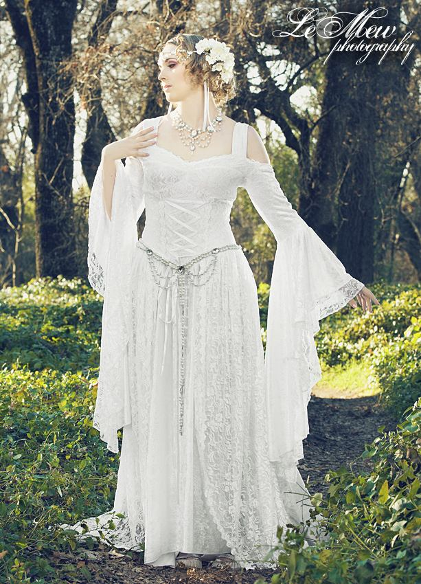 Medieval Corset Wedding Dresses 66