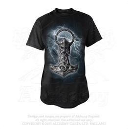 Mjolnir T Shirt Punk Rock