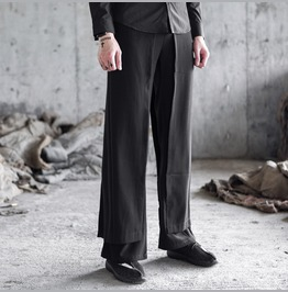 Chinese Style Mens Casual Straight Pants