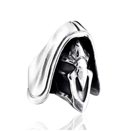 Men's Punk Overwatch Fashion Titanium Stainless Steel Ring
