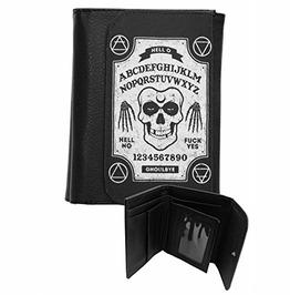 Ghoul Ouija Board Wallet Occult Goth Biker Metal Alternative