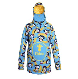 Chica Hoodie With Replaceable Mask