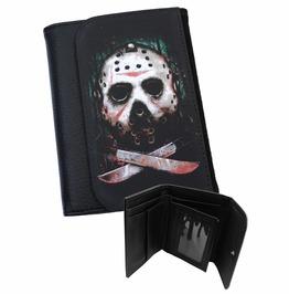 Jason Vorhees Wallet Horror Friday The 13th Goth Biker Metal