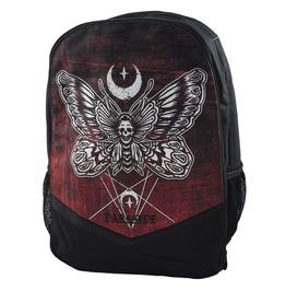Gothic Backpack Rucksack Bag Laptop Tablet Holder Death Moth Occult