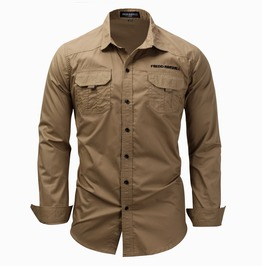 Men's Classic Slim Fitted Button Down Shirt