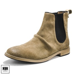 Men's Vintage Pine Suede Chukka Pointed Boots