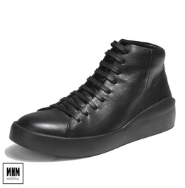 Men's Lace Up Casual High Help Shoes Cowhide Shoes