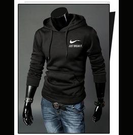Just Break It Printed Sportswear Hood Men Men's Hoodies Men Sweatshirt