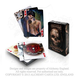 Gothic Poker Playing Cards