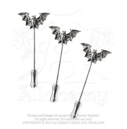 Bat Dress Pins
