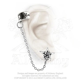 Pentagram Ear Cuff