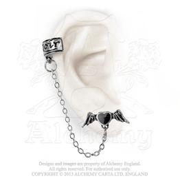 Coeur Noir Ear Cuff