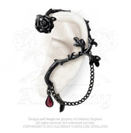 Rose Of Passion Ear Wrap