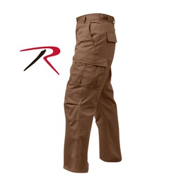 Men's Military Issued Brown Cargo Pants Tactical Bdu Army Trousers Ship Fre