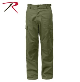 Men's Military Olive Green Cargo Pants Tactical Bdu Army Trousers Ship Free