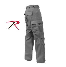 Men's Military Issued Grey Cargo Pants Tactical Bdu Army Trousers Ship Free