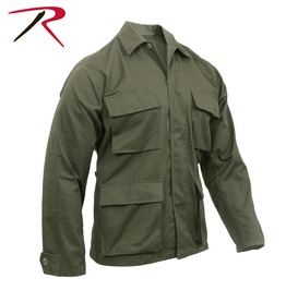 Men's Military Olive Green Tactical Shirt Bdu Army Jacket Ships Free