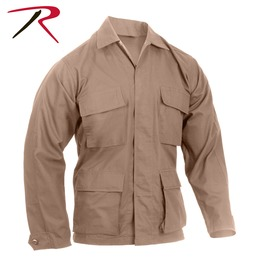 Mens Military Issued Fatigue Khaki Rip Stop Shirt Bdu Army Jacket