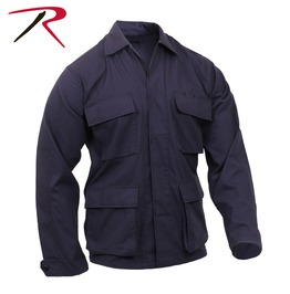 Mens Military Issued Fatigue Blue Rip Stop Shirt Bdu Army Jacket