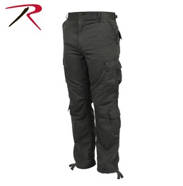 Men's Military 8 Pocket Paratrooper Grey Cargo Pants Bdu Army Trousers