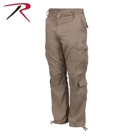 Men's Military 8 Pocket Paratrooper Khaki Cargo Pants Bdu Army Trousers
