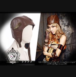 Steampunk Revolution Sky Captain Leatherette Trapper Aviator Hat Sp011