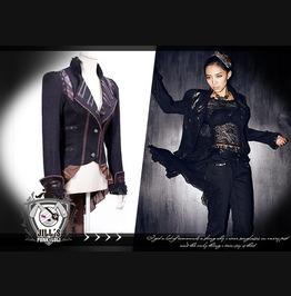 Steampunk Victorian Vanadis Scalloped Coattail Dress Suit Blazer Sp020 Br