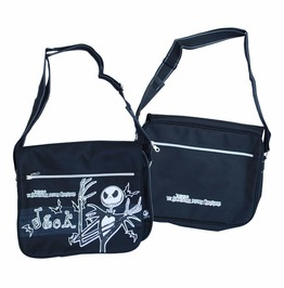 Nightmare Before Christmas Laptop Tablet Holder Messenger Shoulder Bag