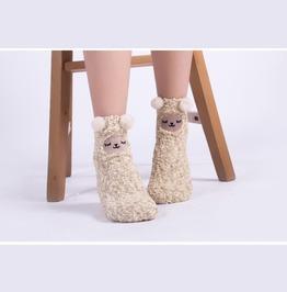 Alpaca Socks Calcetines Wh461