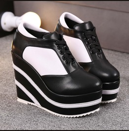 Trendsetter Platform Wedges Heel Sneaker Shoes