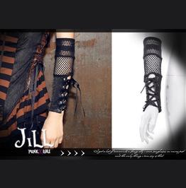 Steampunk Industrial Revolution Single Hand Fishnet Arm Warmer Jrsp036