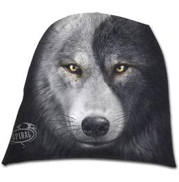 Spiral Beanie Hat Ski Hat Wolf Chi