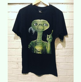 E.T. The Extra Terrestrial Movie T Shirt Unisex Size S,M,L,Xl