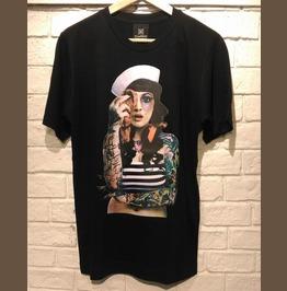 Woman Tattoo Punk Rock Fashion T Shirt Unisex Size S,M,L,Xl