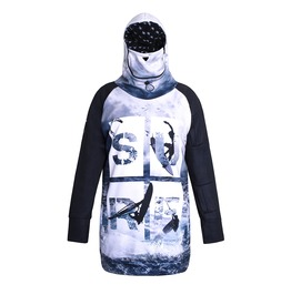 Surf Men's Hoodie With Replaceable Mask