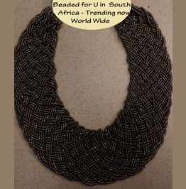 Beaded African Queen Necklaces Handmade In S Africa & Trending In Europe