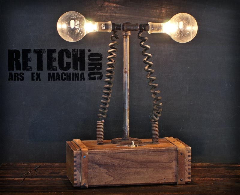 decopunk lamp