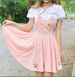 Cat Dress / Vestido Gato Wh475