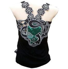 42d7bf13 Rockabilly Punk Rock Baby Snake Gothic Skull Tank Top Shirt S M L Xl Xxl